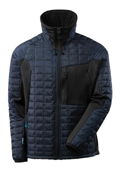 MASCOT® ADVANCED - blu navy scuro/nero - Giacca con CLIMASCOT®, peso ridotto, idrorepellente