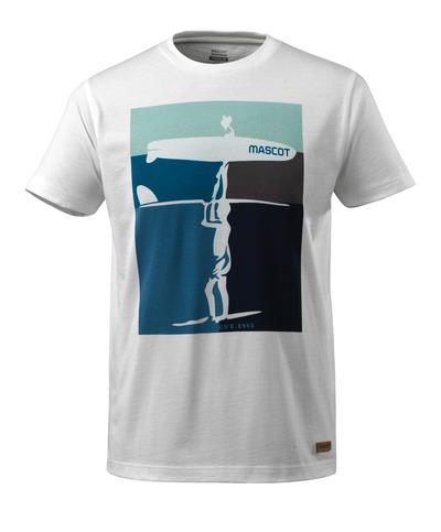 MASCOT® ADVANCED - bianco - Maglietta con motivo surfista, outfit moderno