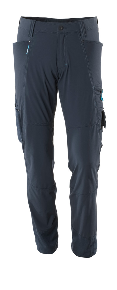 MASCOT® ADVANCED - blu navy scuro - Pantaloni, stretch multi-direzionali, leggeri