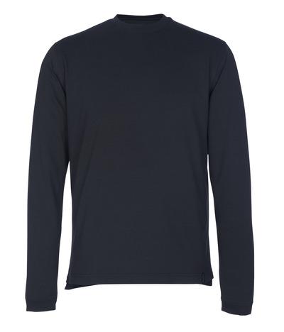 MASCOT® Albi - blu navy scuro - Maglietta, a maniche lunghe, outfit moderno