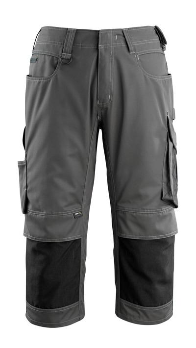 MASCOT® Altona - antracite scuro/nero - ¾ Lunghezza Pantaloni