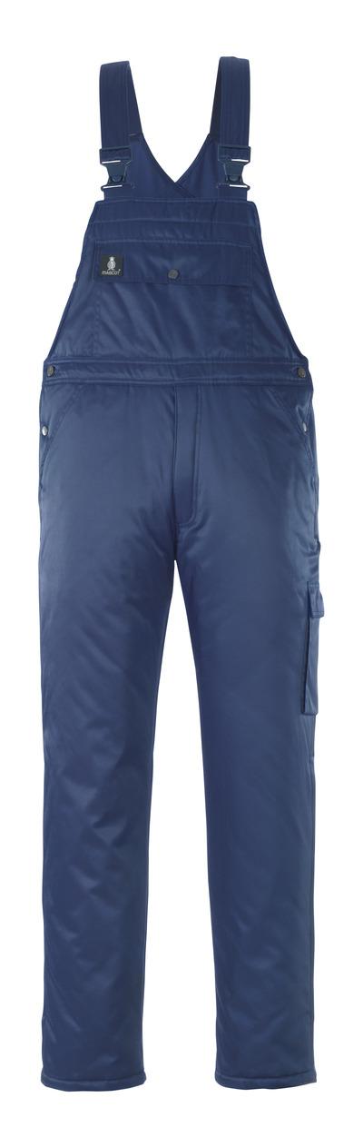 MASCOT® Antarktis - blu navy - Salopette antifreddo con fodera trapuntata, idrorepellente Bearnylon®