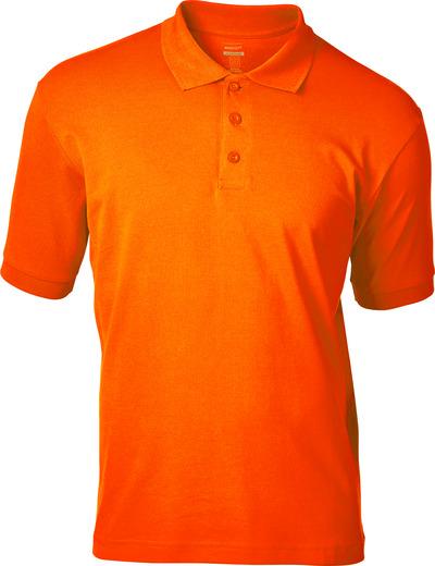 MASCOT® Bandol - arancio hi-vis - Polo, elementi a contrasto ad alta visibilità, outfit moderno