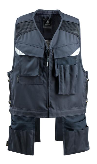 MASCOT® Baza - blu navy scuro - Gilet Porta Attrezzi