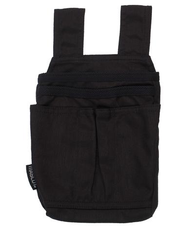 MASCOT® Benoni - nero - Tasche esterne in resistente CORDURA®, paio con due