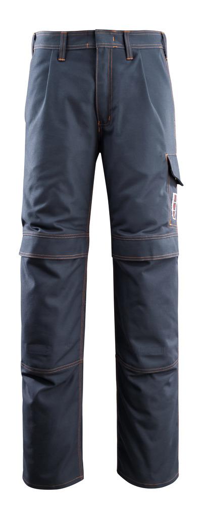 MASCOT® Bex - blu navy scuro - Pantaloni con tasche porta-ginocchiere, multiprotezione