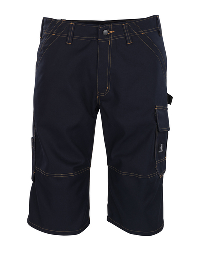 MASCOT® Borba - blu navy scuro - ¾ Lunghezza Pantaloni
