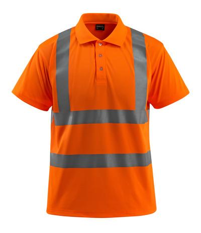 MASCOT® Bowen - arancio hi-vis - Polo, taglio classico, classe 2