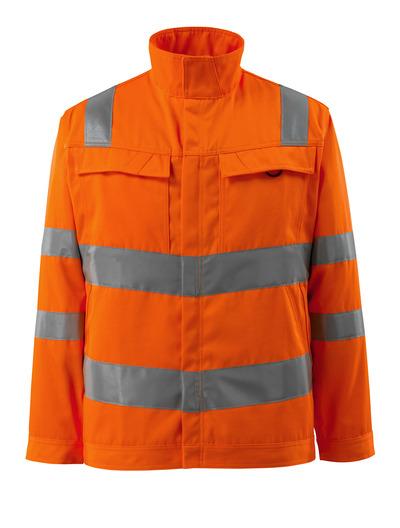 MASCOT® Bunbury - arancio hi-vis - Giacca, alta resistenza all'usura, a tinta unita, classe 3