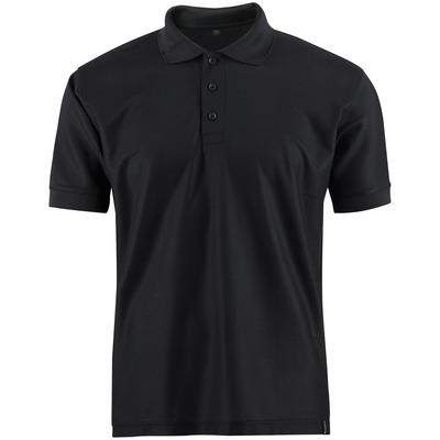 MASCOT® CROSSOVER - nero - Polo, traspirante CoolDry, outfit moderno