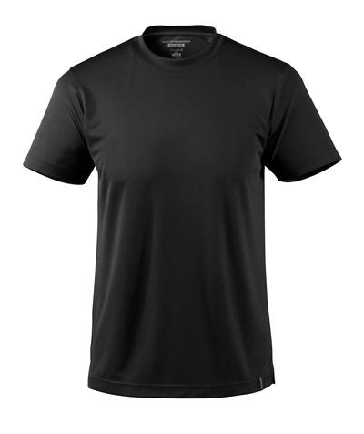 MASCOT® CROSSOVER - nero - Maglietta, traspirante CoolDry, outfit moderno