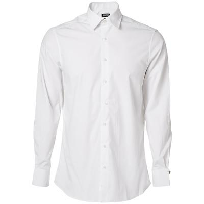 MASCOT® CROSSOVER - bianco - Camicia Popeline, taglio moderno, a manica lunga.