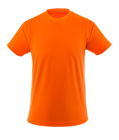 MASCOT® Calais - arancio hi-vis - Maglietta, elementi a contrasto ad alta visibilità, peso ridotto, outfit moderno