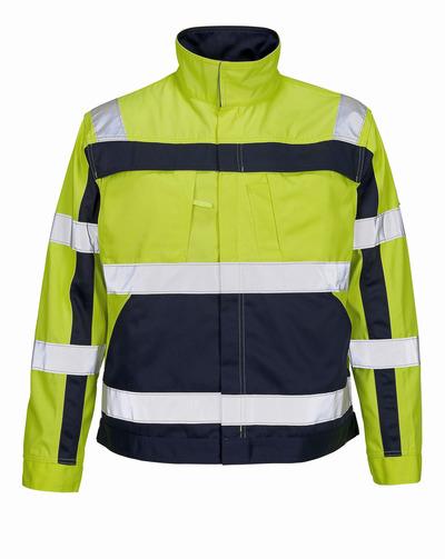 MASCOT® Cameta - giallo hi-vis/blu navy - Giacca, alta resistenza all'usura, classe 2