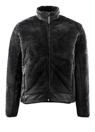 MASCOT® Campbell - nero* - Giacca in maglia con chiusura lampo