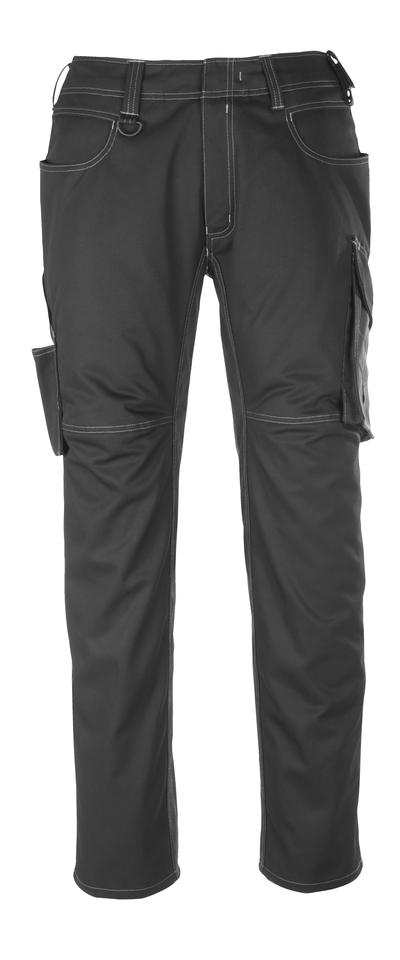 MASCOT® Dortmund - nero/antracite scuro - Pantaloni