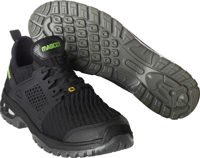 MASCOT® FOOTWEAR ENERGY - nero - Scarpa Antinfortunio S1P stringhe