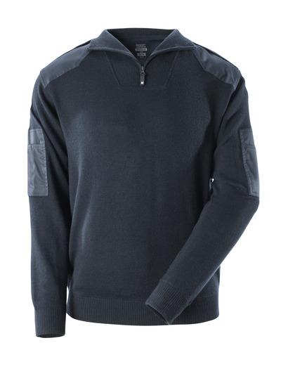 MASCOT® FRONTLINE - blu navy scuro - Maglione di Lana con rinforzi, con lana.