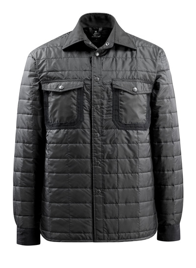 MASCOT® Fraga - nero - Camicia con fodera e bottoni a pressione