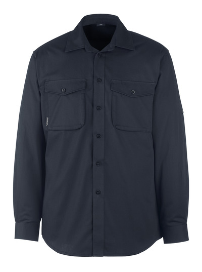 MASCOT® Greenwood - blu navy scuro - Camicia, outfit moderno