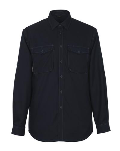 MASCOT® Hampton - blu navy scuro - Camicia
