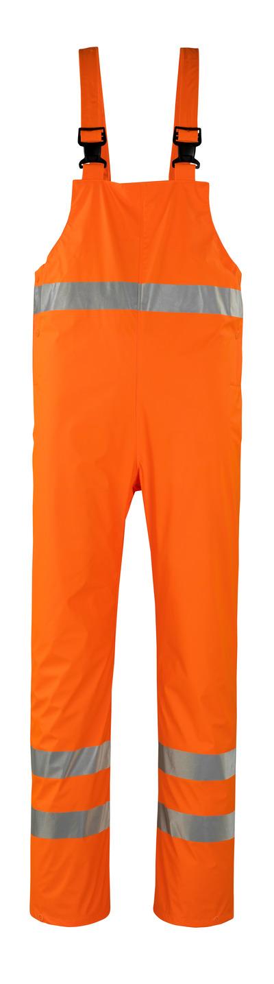 MASCOT® Hartberg - arancio hi-vis* - Pettorina antipioggia, antivento e impermeabile, classe 2