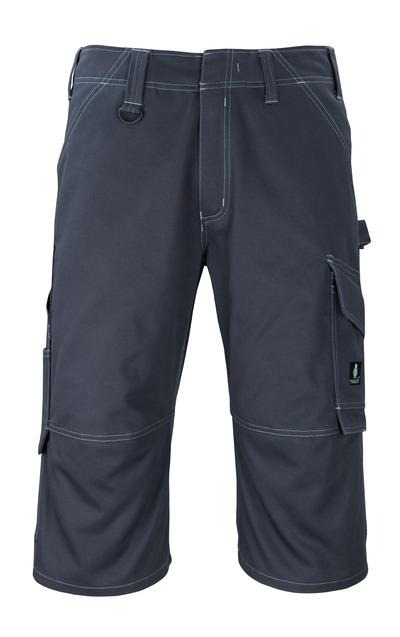 MASCOT® Hartford - blu navy scuro - ¾ Lunghezza Pantaloni