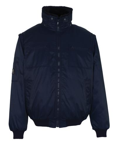 MASCOT® Innsbruck - blu navy - Giacca da pilota con fodera in pile staccabile, idrorepellente Bearnylon®