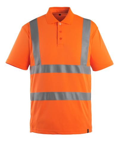MASCOT® Itabuna - arancio hi-vis - Polo, outfit moderno, classe 2