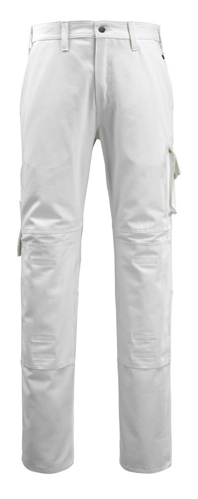 MACMICHAEL® Jardim - bianco - Pantaloni con tasche porta-ginocchiere, cotone