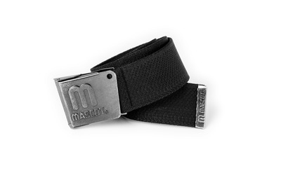 MASCOT® Kampala - nero - Cintura con fibbia regolabile, elastico