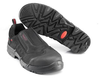 MASCOT® Katesh - nero/rosso* - Scarpa antinfortunio S1P con fascetta elastica
