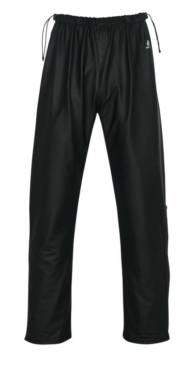 MASCOT® Laguna - nero - Pantaloni antipioggia