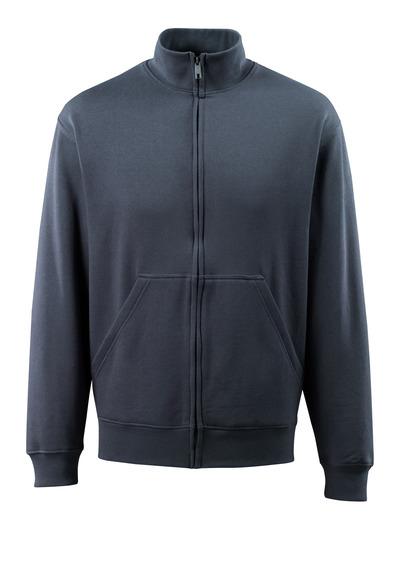 MASCOT® Lavit - blu navy scuro - Felpa con chiusura lampo, outfit moderno