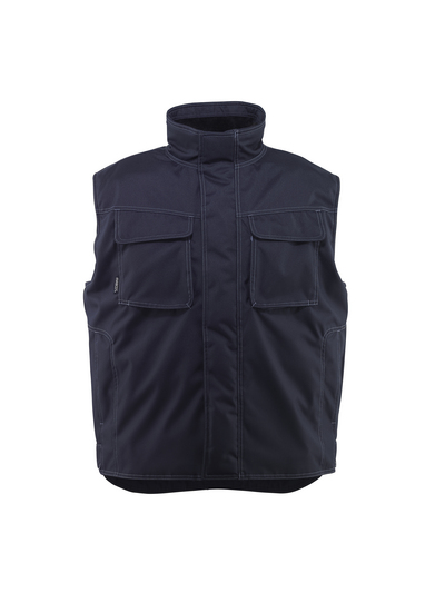 MASCOT® Lexington - blu navy scuro - Gilet antifreddo con fodera in pile, idrorepellente