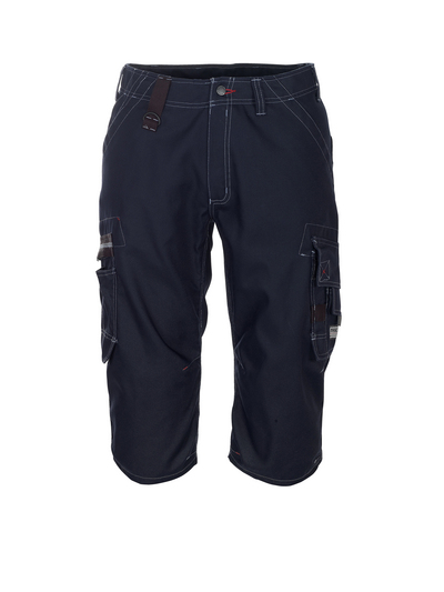 MASCOT® Limnos - blu navy scuro - Pantaloni a ¾, peso ridotto