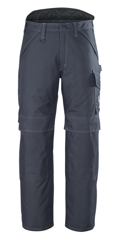 MASCOT® Louisville - blu navy scuro - Pantaloni antifreddo, impermeabile
