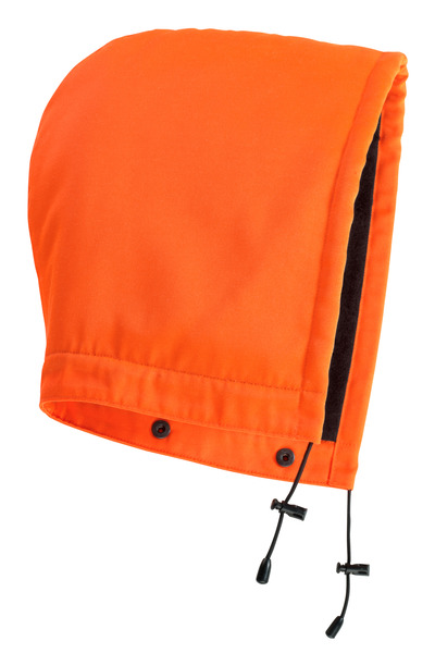 MASCOT® MacAllen - arancio hi-vis - Cappuccio con bottoni automatici