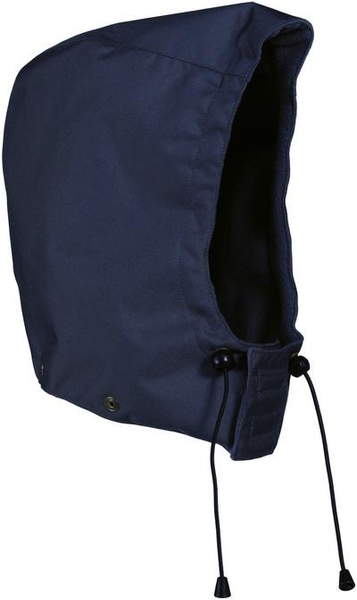 MASCOT® MacKay - blu navy - Cappuccio con bottoni automatici
