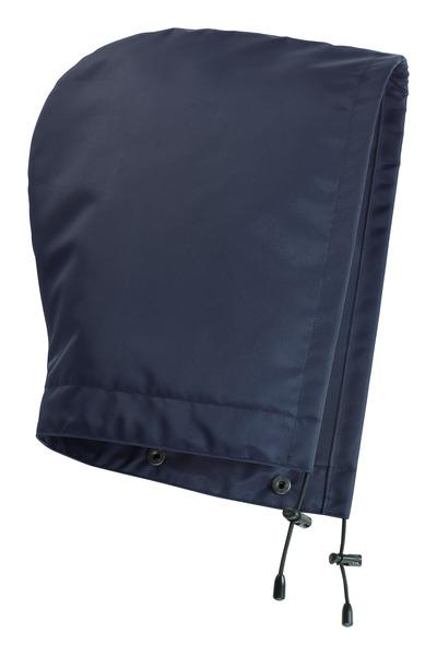 MASCOT® MacKlin - blu navy - Cappuccio con bottoni a pressione e fodera, impermeabile