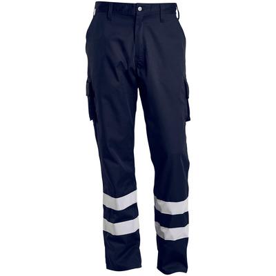 MACMICHAEL® MacMichael - blu navy scuro - Pantaloni con tasche sulle cosce, con bande catarifrangenti, peso ridotto