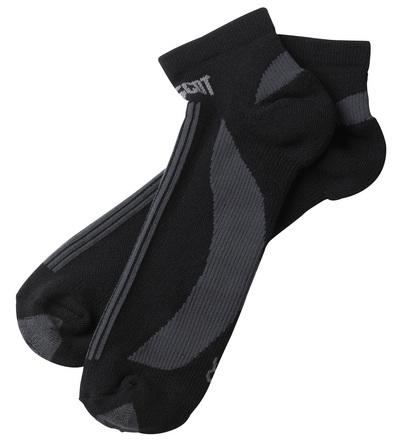 MASCOT® Maseru - nero/antracite scuro - Calze, calza corta, traspirante