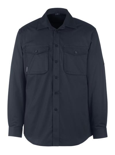 MASCOT® Mesa - blu navy scuro - Camicia, outfit moderno