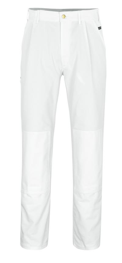 MASCOT® Michigan - bianco* - Pantaloni con tasche porta-ginocchiere