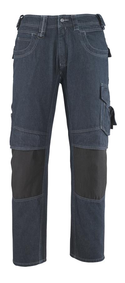 MASCOT® Milton - blu jeans* - Jeans con tasche porta-ginocchiere