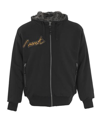 MASCOT® Monforte - nero* - Felpa con Cappuccio