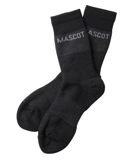 MASCOT® Moshi - antracite scuro melange  - Calze, traspirante