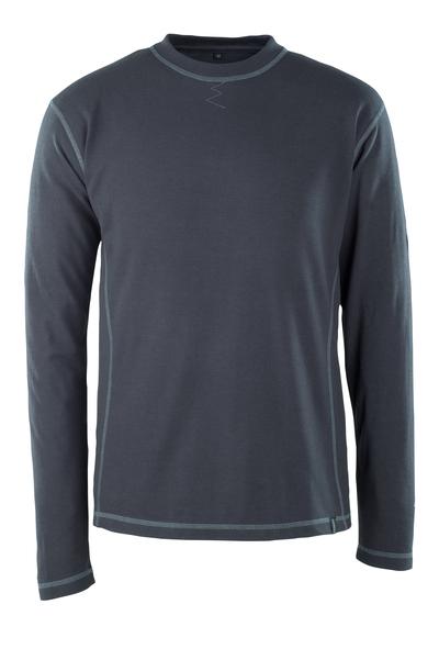 MASCOT® Muri - blu navy scuro - Maglietta, a maniche lunghe, multiprotezione, outfit moderno