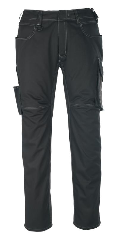 MASCOT® Oldenburg - nero/antracite scuro - Pantaloni, peso ridotto