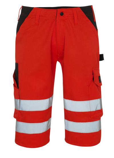 MASCOT® Orada - rosso hi-vis/antracite scuro* - Pantaloni a ¾